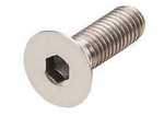 IB Roll SS Allen CSK Screws Size M8x1x20 Mm Grade A2-304Q