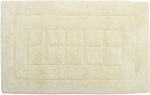 Style Homez Luxurious Hand Tufted Soft Feel Cotton Bath Mat, Cream Color - FU_BE_MA_462884