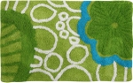 Style Homez Luxurious Hand Tufted Soft Feel Cotton Bath Mat, Lime Green Color - FU_BE_MA_462888