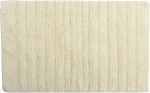 Style Homez Luxurious Hand Tufted Soft Feel Cotton Bath Mat, Cream Color - FU_BE_MA_462895