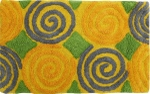 Style Homez Luxurious Hand Tufted Soft Feel Cotton Bath Mat, Yellow Color - FU_BE_MA_462995