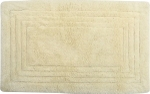 Style Homez Luxurious Hand Tufted Soft Feel Cotton Bath Mat, Cream Color - FU_BE_MA_463000