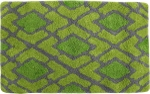 Style Homez Luxurious Hand Tufted Soft Feel Cotton Bath Mat, Lime Green Color - FU_BE_MA_463139
