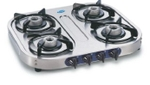 Glen Stainless Steel Cooktop With Auto Ignition Option (4 Burner) - GL 1044 SS AL