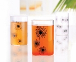Borosil Angelica Medium 295 Ml Black Vision Glass Set Of 6 BWIBAN65BM