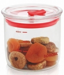 Borosil 400ml Classic Trend Jar With Lid IWT11SC7014