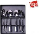 Shapes Rose Coffee Spoon Set Of 6 Pcs. SC/RE/CS/06