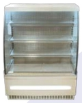 ELAN PRO Upright Showcase Chiller And Frezzer Curve Glass EDG 300C