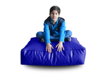Style Homez (SH_FC_SQ_XL_BLUE_F_L) Size - XL Square Floor Cushion With Fillers - (Royal Blue)