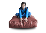 Style Homez (SH_FC_SQ_XL_MAR_F_L) Size - XL Square Floor Cushion With Fillers - (Maroon)