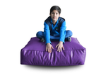 Style Homez (SH_FC_SQ_XL_PUR_F_L) Size - XL Square Floor Cushion With Fillers - (Purple)