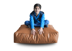 Style Homez (SH_FC_SQ_XL_TAN_F_L) Size - XL Square Floor Cushion With Fillers - (TAN)