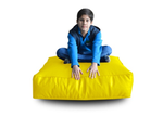 Style Homez (SH_FC_SQ_XL_YEL_F_L) Size - XL Square Floor Cushion With Fillers - (Yellow)