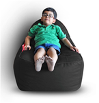 Style Homez (SH_BB_VR_L_BLK_F_L) Size - Kids Video Rocker For Kids With Fillers - (Black)