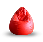 Style Homez SH_BB_CL_XL_RED_E_L Red Classic Bean Bag Cover (Size XL)