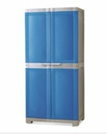 Nilkamal Freedom Mini Medium Storage Cabinet (Deep Blue Grey) FLPWFRDOMPBOMMM002