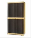 Nilkamal Freedom Mini Medium Storage Cabinet (Weather Brown/ Biscuit)