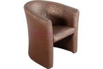 Regent Seating Collection RSC - 917 Cafe & Bar Chair - Brown Leatherite