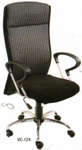 Vishal VC-124 Color Black With White Executive Chair