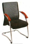 Vishal VC-126 Color Black With White Executive Chair