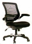 Vishal VC-202 Color Black Mesh Chair
