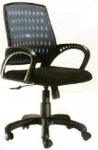 Vishal VC-203 Color Black Mesh Chair