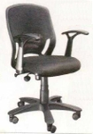 Vishal VC-204 Color Black Mesh Chair