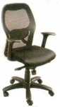 Vishal VC-206 Color Black Mesh Chair