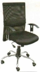 Vishal VC-207 Color Black Mesh Chair