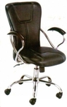 Vishal VC-301 Color Black Computer Chair