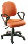 Vishal VC-308 Color Orange Computer Chair