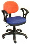 Vishal VC-312 Color Orange With Blue Computer Chair