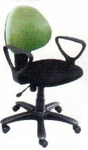 Vishal VC-314 Color Black With Light Green Computer Chair