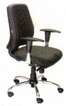Vishal VC-316 Color Black With White Computer Chair