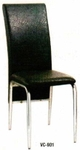 Vishal VC-901 Color Black Cafeteria Chair