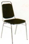 Vishal VC-903 Color Black Cafeteria Chair