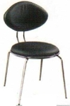 Vishal VC-906 Color Black Cafeteria Chair