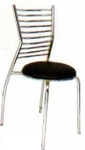 Vishal VC-908 Color Black Cafeteria Chair