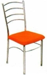 Vishal VC-909 Color Orange Cafeteria Chair