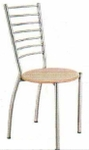 Vishal VC-910 Color Wood Cafeteria Chair