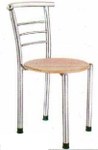 Vishal VC-911 Color Wood Cafeteria Chair