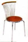 Vishal VC-912 Color Wood Cafeteria Chair