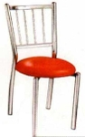 Vishal VC-913 Color Orange Cafeteria Chair