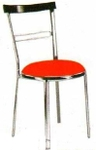 Vishal VC-916 Color Orange Cafeteria Chair