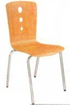 Vishal VC-918 Color Wood Cafeteria Chair