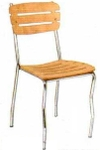 Vishal VC-919 Color Wood Cafeteria Chair