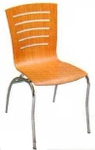 Vishal VC-920 Color Wood Cafeteria Chair