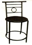 Vishal VC-927 Color Black Cafeteria Chair