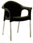 Vishal VC-928 Color Black Cafeteria Chair