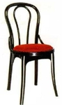Vishal VC-931 Color Black With Maroon Cafeteria Chair